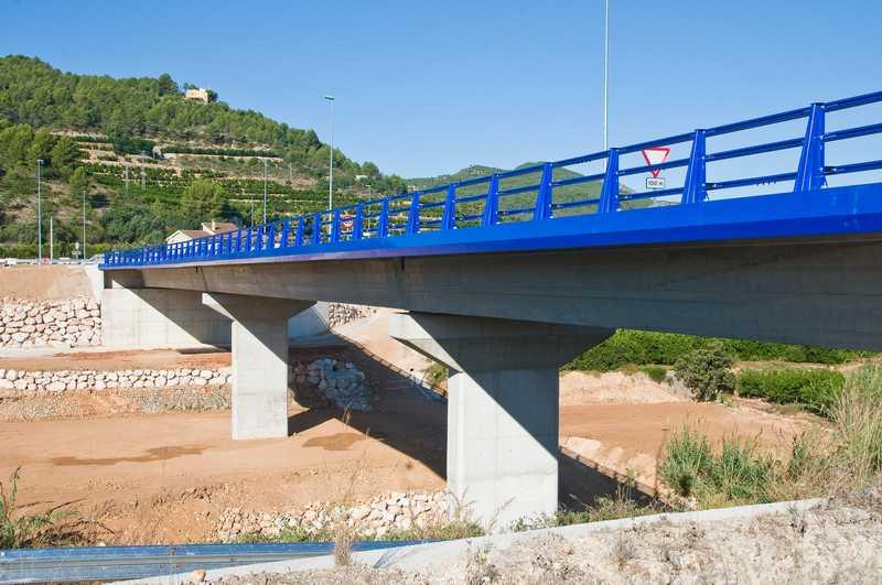 Asistencia Técnica a la Dirección de Obra del Puente sobre el Río Serpis en Villalonga